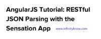 AngularJS Tutorial RESTful JSON Parsing