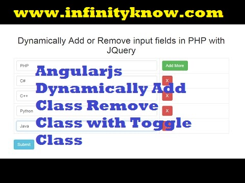 Angularjs Dynamically Add Class Remove Class with Toggle Class