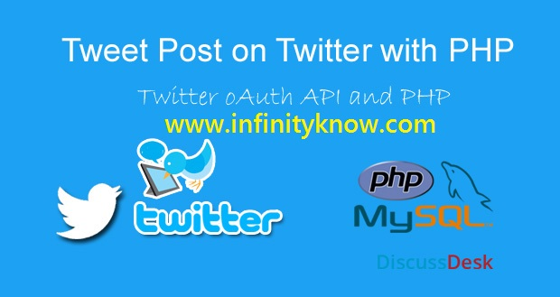 Auto Post Tweets on Twitter via API Using PHP