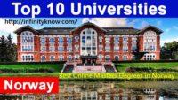 Best Online Masters Degrees in Norway