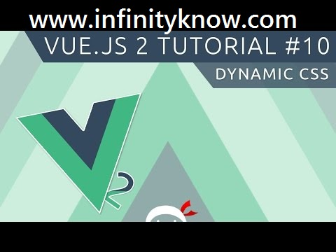 Dynamic Attribute vuejs 2 Class and Style Bindings