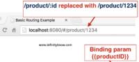 Get url parameter using angular js