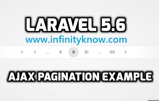 Laravel JQuery AJAX Pagination Step By step