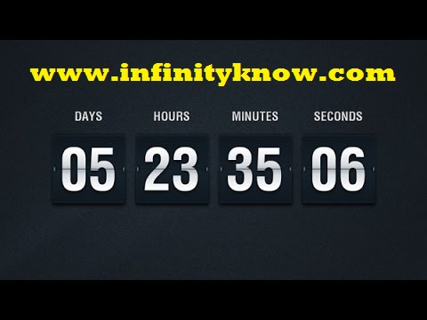 Vuejs Countdown Timer Minutes Seconds Example