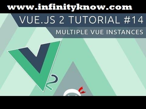 Vuejs Creating vue instance inside vue instance