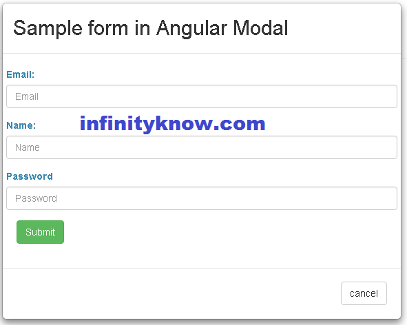 Angular UI Bootstrap modals load template Solution