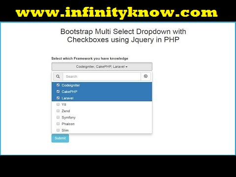 AngularJS Dynamic Dropdown list using PHP • InfinityKnow