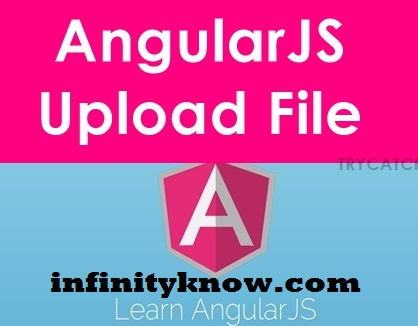 AngularJS File Upload using PHP Steps