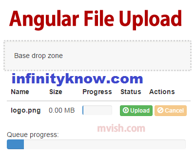 AngularJS File-image Upload ng-file-upload | angular-file-upload