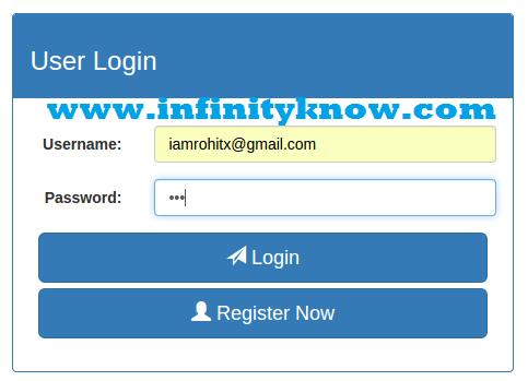 Angularjs MD5 Login and registration with php