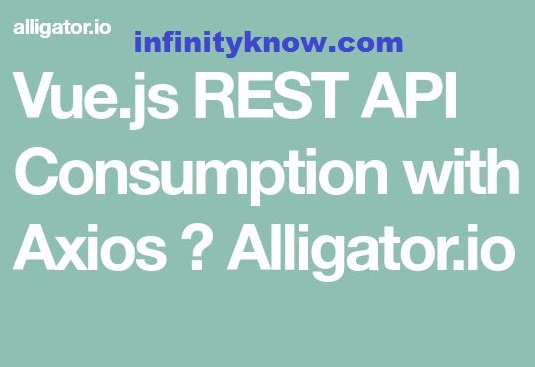 Vue Restful API and axios API Example – Vue js rest api authentication