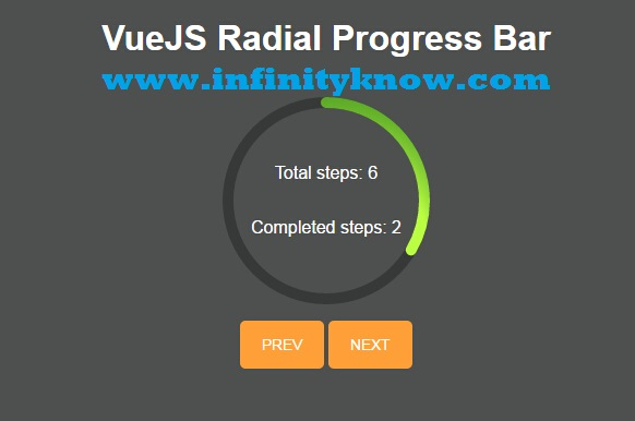 Vue js Loading Progress Bar Example - vue-progressbar