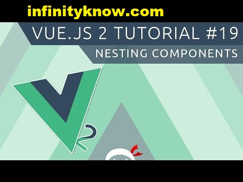 VueJS Nested Components vue inside Components Example