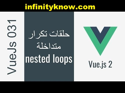 Vuejs Nested v-for index and Nested v-repeat index Example