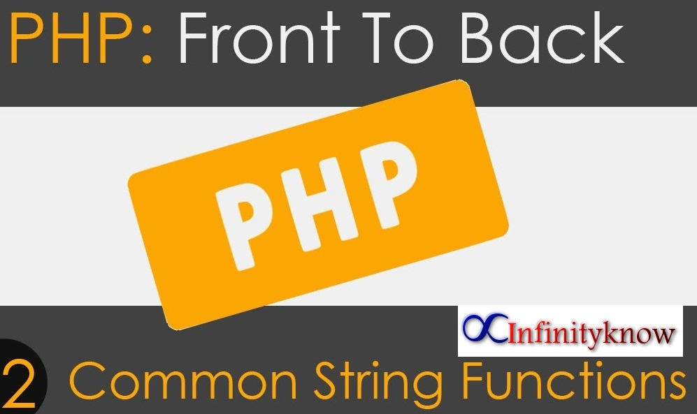 16 Great Commonly used PHP String Functions with Examples