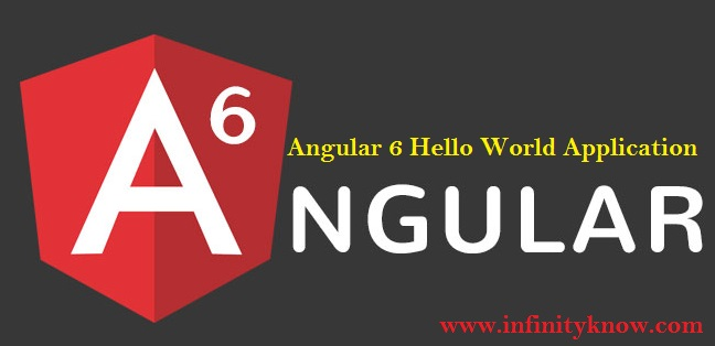 Angular 6 Hello World Application