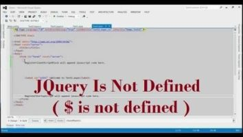 How To Resolve jQuery is undefined error