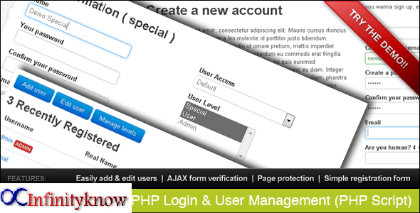 PHP Retype New Password Confirmation Example