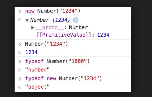 JavaScript Converting strings to numbers Example