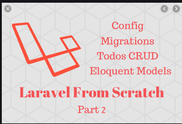 Laravel Create Database Migration and Model